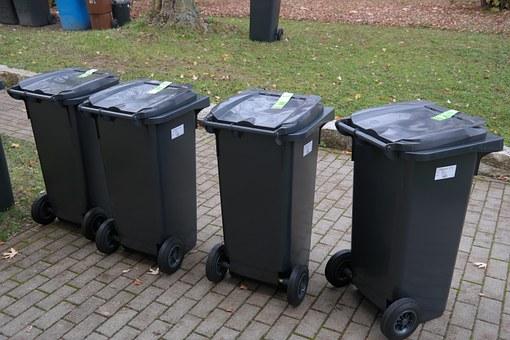 poubelles exterieures